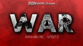 WAR (3/30/13) Review